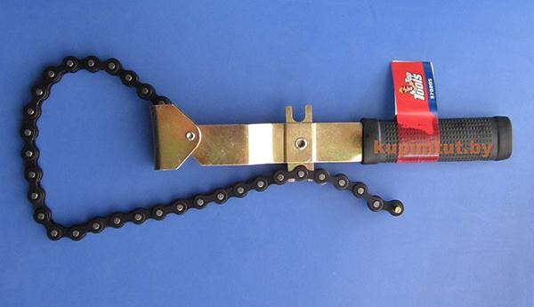 Универсальный ключ из цепи и профиля своими руками 46