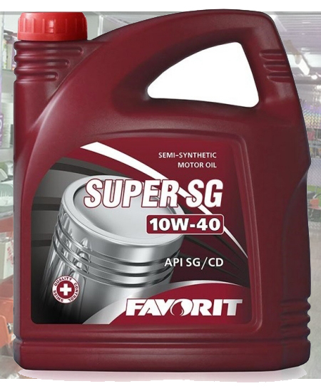 FAVORIT Super SG SAE 10W-40  API SG/CD